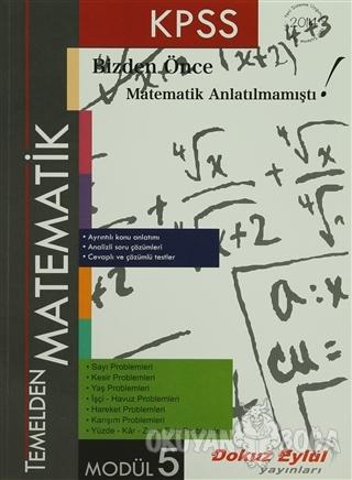 KPSS Temelden Matematik Modül 5 - Kolektif - Dokuz Eylül Yayınları