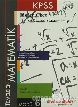 KPSS Temelden Matematik Modül 6 - Kolektif - Dokuz Eylül Yayınları