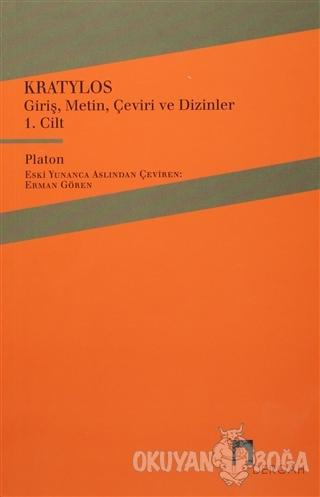 Kratylos 1. Cilt - Platon (Eflatun) - Dergah Yayınları