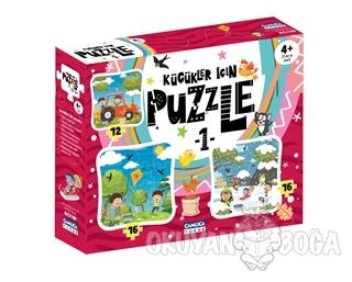 Küçükler İçin Puzzle 1 (Kutulu) - - Çamlıca Çocuk Yayınları