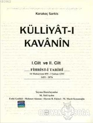 Külliyet-i Kavani'nin 2 Cilt