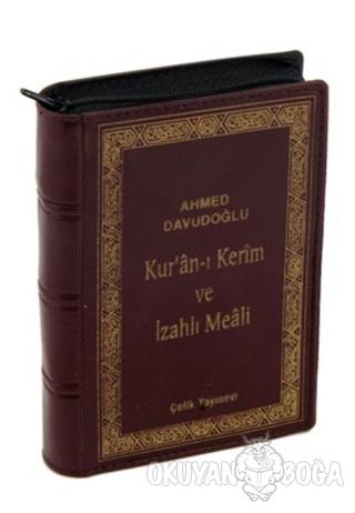 Kur'an-ı Kerim ve İzahlı Meali (Cep Boy, Kılıflı) (Ciltli)