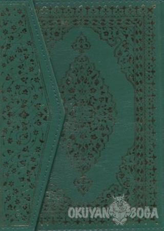 Kur'an- Kerim (Rahle Boy, Bilgisayar Hatlı, Yeşil Kapak) (Ciltli) - Ko
