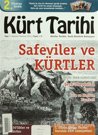 Kürt Tarihi Dergisi Sayı: 7 Haziran - Temmuz 2013 - Kolektif - Kürt Ta