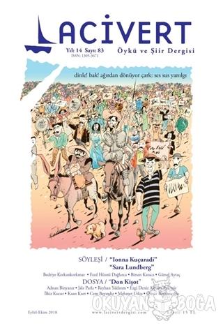 Lacivert Öykü ve Şiir Dergisi Sayı: 83 Eylül - Ekim 2018