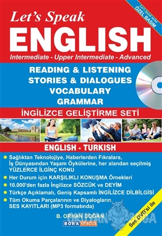 Let's Speak English (Özel Basım)
