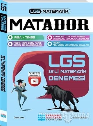 LGS Matador Video Çözümlü 15'li Matematik Denemesi - Ömer Boz - Evrens