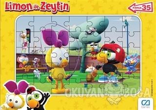 Limon ile Zeytin - Frame Puzzle 2 - Sarı (35 Parça)