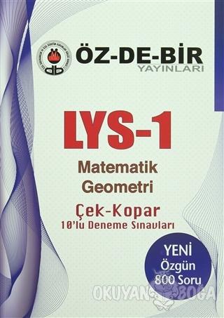 LYS-1 Matematik Geometri Çek Kopar 10'lu Deneme Sınavları - Kolektif -