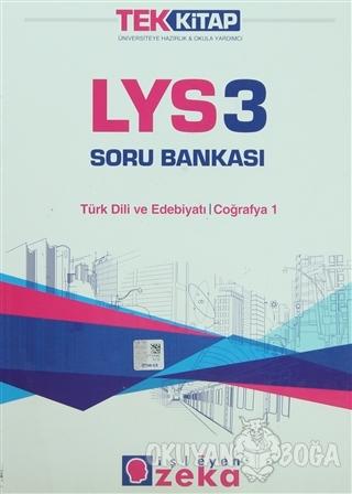 LYS 3 Soru Bankası Türk Dili ve Edebiyatı / Coğrafya 1 - Kolektif - İş