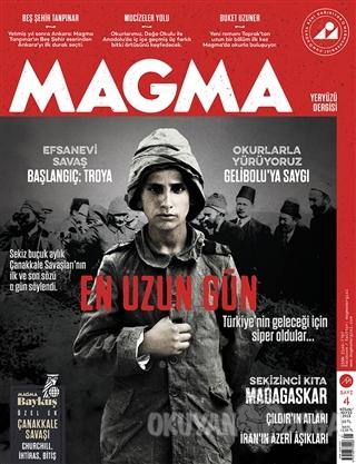 Magma Yeryüzü Dergisi Sayı: 4 Nisan-Mayıs 2015 Kolektif