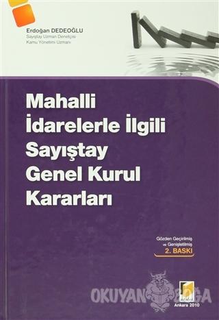 Mahalli İdarelerle İlgili Sayıştay Genel Kurul Kararları (Ciltli) - Er
