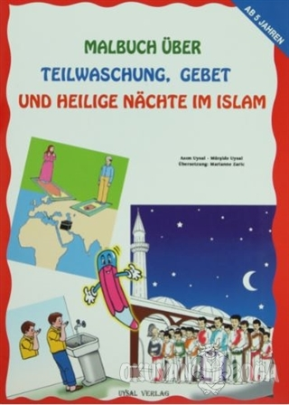 Malbuch Über Teilwaschung Gebet Und Heilige Nachte Im Islam - Mürşide
