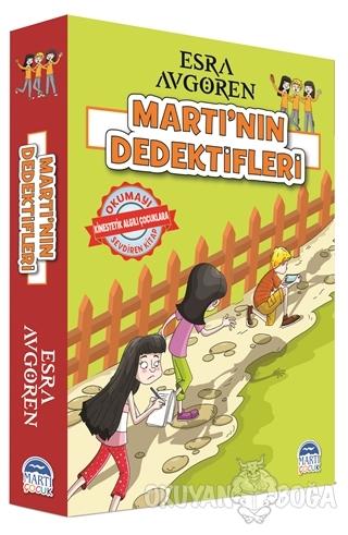Martı'nın Dedektifleri Seti (5 Kitap Takım) - Esra Avgören - Martı Çoc