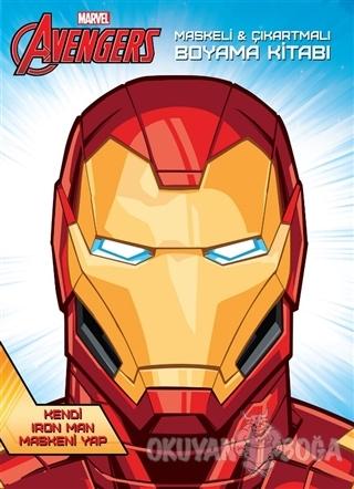 Marvel Avengers Maskeli ve Çıkartmalı Boyama Kitabı - Kolektif - Beta
