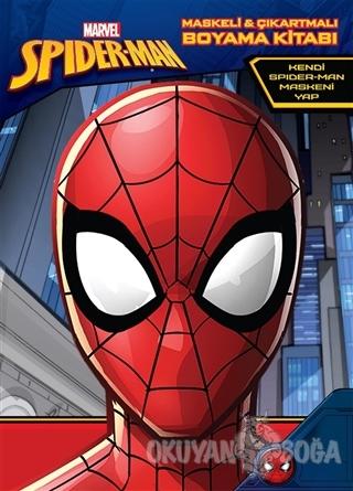 Marvel Spider-Man Maskeli ve Çıkartmalı Boyama Kitabı - Kolektif - Bet
