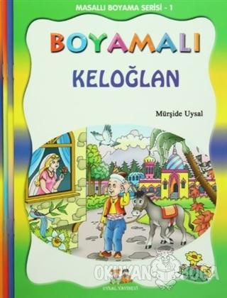 Masallı Boyama Serisi (4 Kitap Takım) - Asım Uysal - Uysal Yayınevi