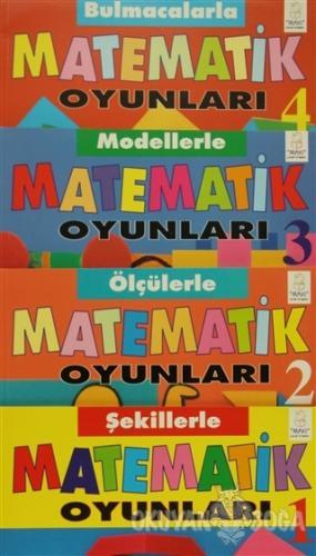 Matematik Oyunları - 4 Kitap Takım (Kutulu) - Wendy Clemson - Aksoy Ya
