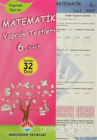 Matematik Yaprak Testleri 6. Sınıf Kolektif