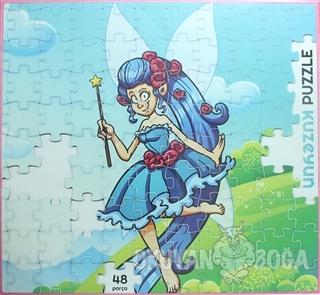 Mavi Peri - 48 Parça Puzzle - Kolektif - Kuzey Yayınları