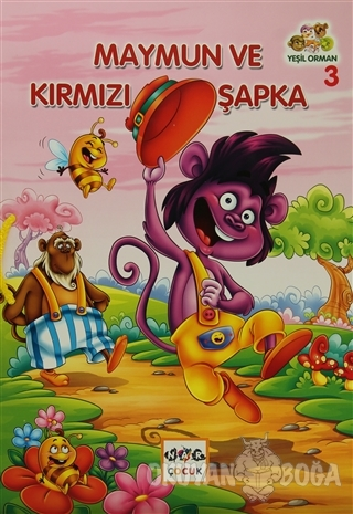 Maymun ve Kırmızı Şapka - Muhammed Kasımi - Nar Yayınları