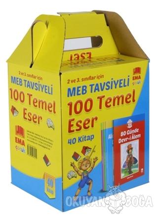MEB Tavsiyeli 100 Temel Eser (40 Kitap Takım) - Namık Kemal - Ema Çocu