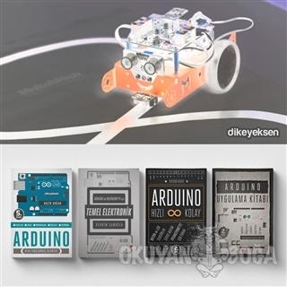 Mekar'lar için Cep Boy Arduino Başlangıç Seti (4 Kitap Takım)