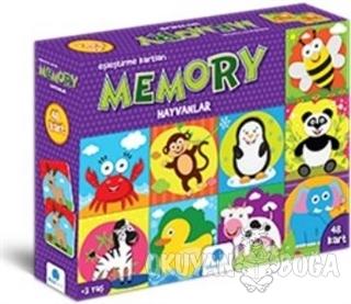 Memory Hayvanlar 48 Kart - Kolektif - Gizzy Art
