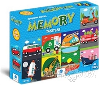 Memory Taşıtlar 48 Kart - Kolektif - Gizzy Art