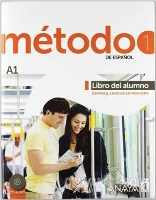 Metodo 1 Libro del Alumno A1 - 2 CD (İspanyolca Temel Seviye Ders Kita