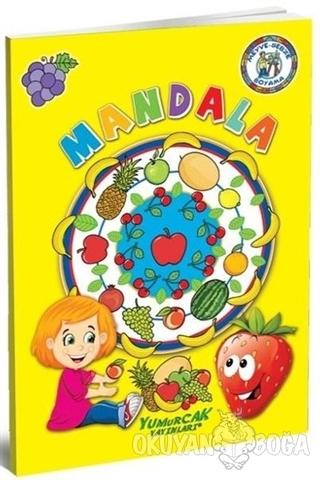 Meyve Sebze Boyama Mandala Mustafa Doğru