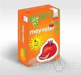 Meyveler (6 Adet 2 ve 3 Parçalı Yapboz)
