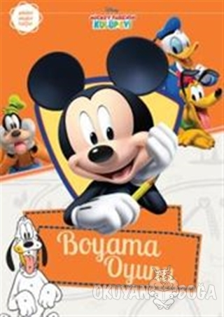 Mickey Fare Nin Kulup Evi Boyama Oyunu Kolektif Dogan Egmont Yayin