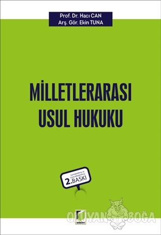 Milletlerarası Usul Hukuku - Hacı Can - Adalet Yayınevi - Ders Kitapla