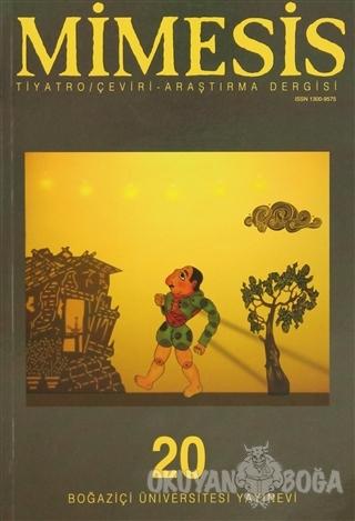 Mimesis Sayı: 20 - Kolektif - Boğaziçi Üniversitesi Yayınevi