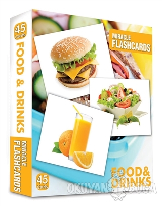 Miracle Flashcards: Food and Drink - Kolektif - MK Publications
