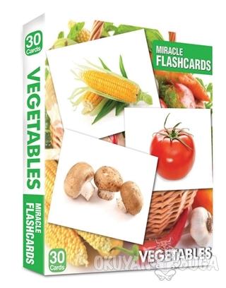 Miracle Flashcards - Vegetables - Kolektif - MK Publications