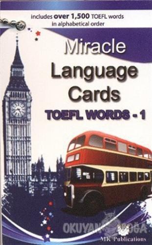 Miracle Language Cards TOEFL Words - 1 - Murat Kurt - MK Publications