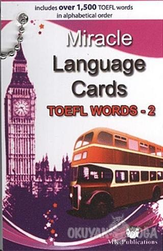 Miracle Language Cards (TOEFL Words-2) - Murat Kurt - MK Publications