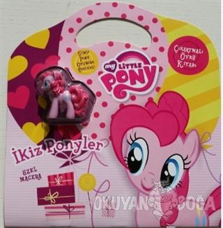 Mlp İkiz Ponyler: Çıkartmalı Öykü Kitabı - Kolektif - Doğan Egmont Yay