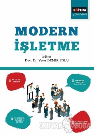 Modern İşletme - Kolektif - Eğitim Yayınevi - Ders Kitapları