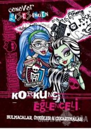 Monster High Korkunç Eğlenceli Bulmacalar, Öyküler ve Çıkartmalar - Ko