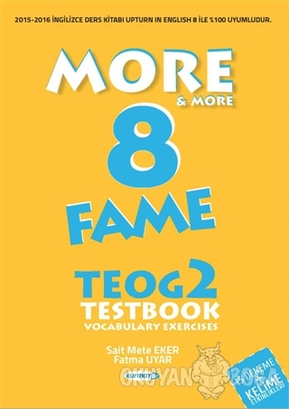More - More 8: Fame TEOG 2 Testbook - Vocabulary Exercises