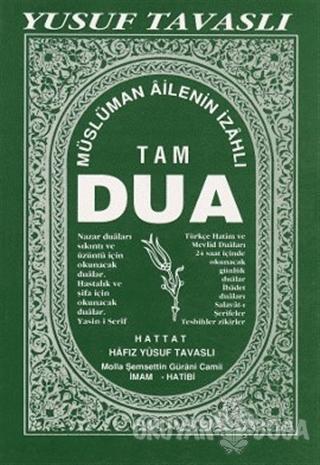 Müslüman Ailenin İzahlı Tam Dua Kitabı (B26) (Ciltli) - Yusuf Tavaslı