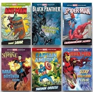 Müthiş Marvel Hikayeleri (6 Kitap Takım)