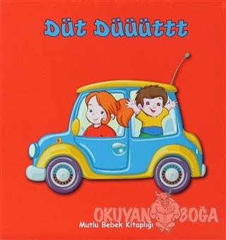 Mutlu Bebek Kitaplığı - Düt Düüüttt (Ciltli) - Kolektif - Yeşil Dinozo