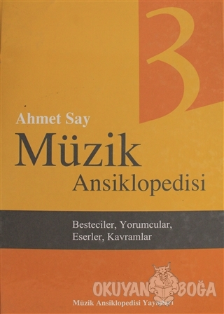 Müzik Ansiklopedisi Cilt 3 (Ciltli)