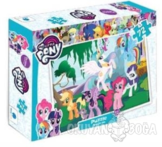 My Little Pony 72 Parça - Kolektif - Gizzy Art