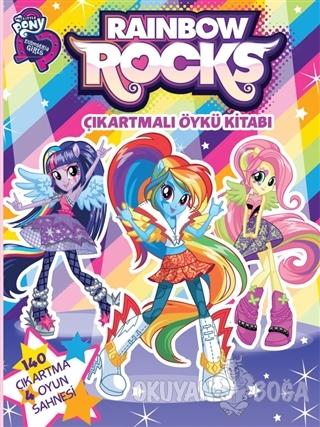My Little Pony Rainbow Rocks Çıkartmalı Öykü Kitabı - Kolektif - Doğan