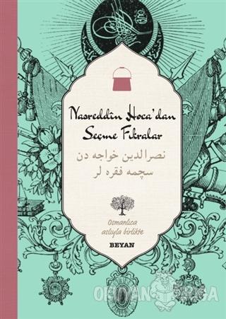 Nasreddin Hoca'dan Seçme Fıkralar (Osmanlıca-Türkçe) (Ciltli)